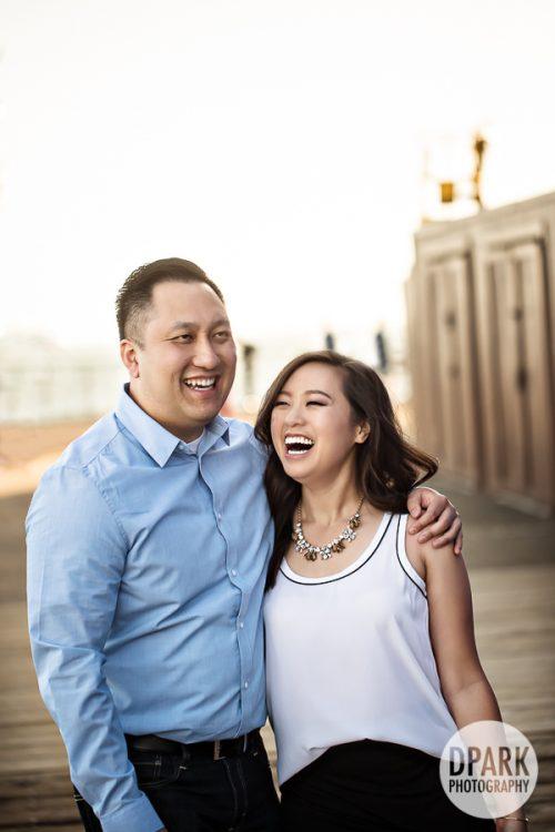 santa-monica-pier-vietnamese-engagement
