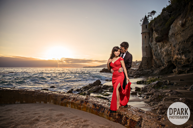 Sneak Peak | Victoria Beach in Laguna Beach, CA | Anna + Hieu