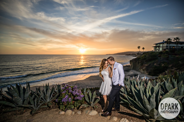 Gorgeous Montage Laguna Beach during a mesmerizing sunset; the perfect backdrop.