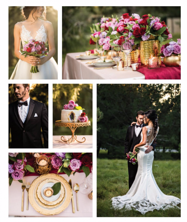 Luxurious Love Affair Wedding Shoot with Blushing Details | Ceremony Magazine
