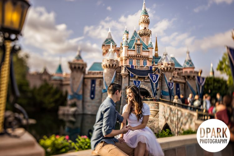 disneyland, castle, fairy, tale, princess, wedding, engagement, bride, groom, inspiration, ideas