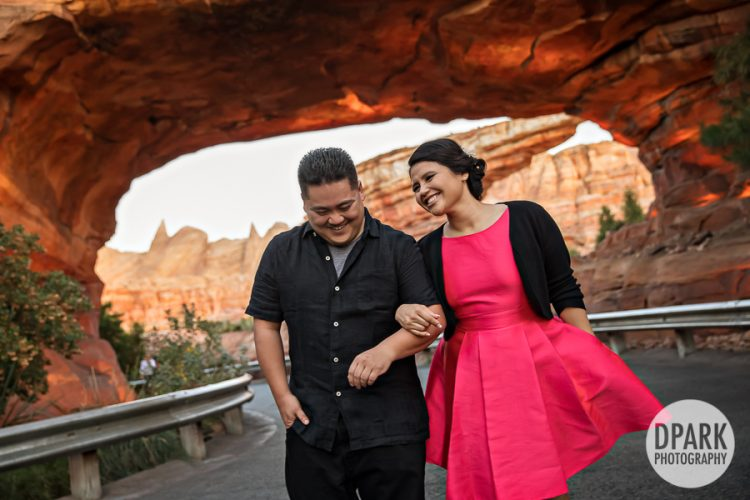 cars-land-engagement-photographer