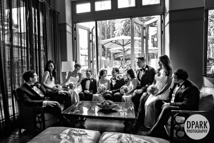 Bridal Party | Fairmont Miramar Hotel