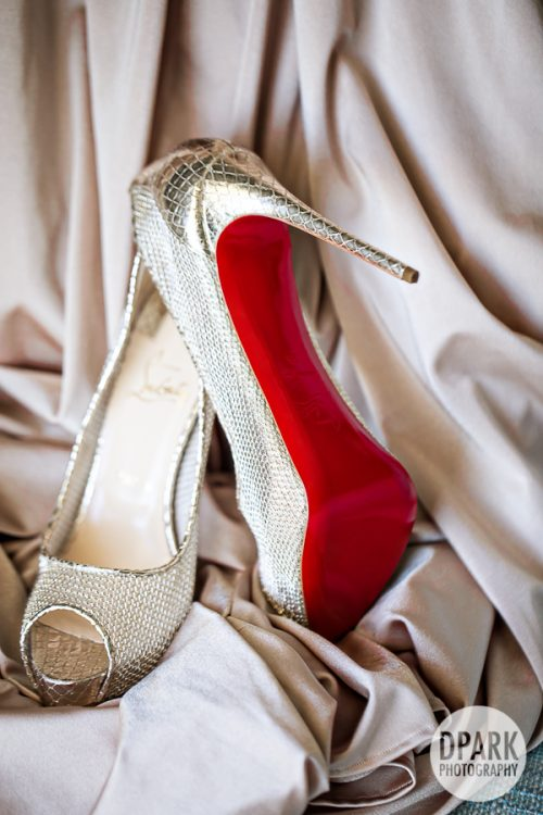 gold, champagne, louboutin, blush, shoes, bride, bridal, accessories, inspiration, ideas