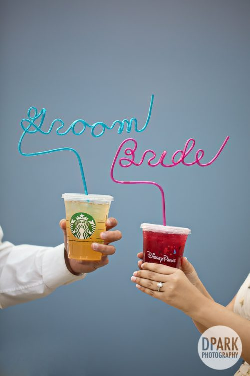 modern-happily-ever-after-groom-bride-crazy-straw-engagement
