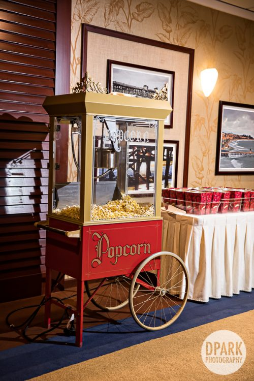vogue-fashion-disney-paradise-pier-hotel-wedding-reception-popcorn