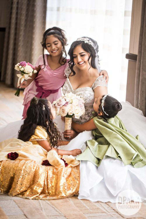 modern-disney-princess-flower-girls-wedding-idea