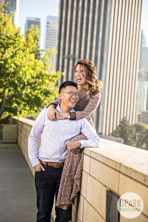 downtown-los-angeles-korean-engagement-photography