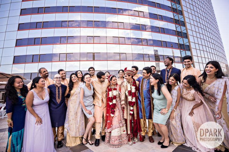 best-biggest-wedding-bridal-party-photos