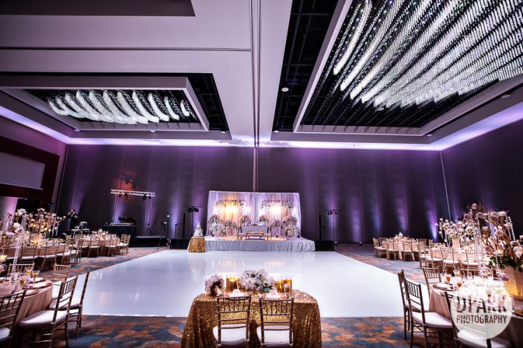 best-elegant-luxury-indian-wedding-white-purple-reception-decor