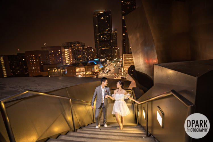 Sneak Peek | Walt Disney Concert Hall Wedding | Kathy + Stan