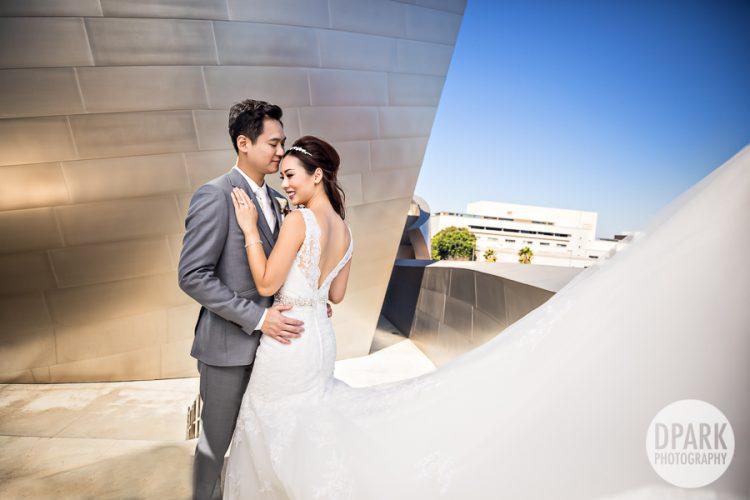 walt-disney-concert-hall-wedding-romantic-photography