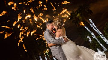 Sneak Peek | Majestic Garden Hotel Wedding | Denise + Eric