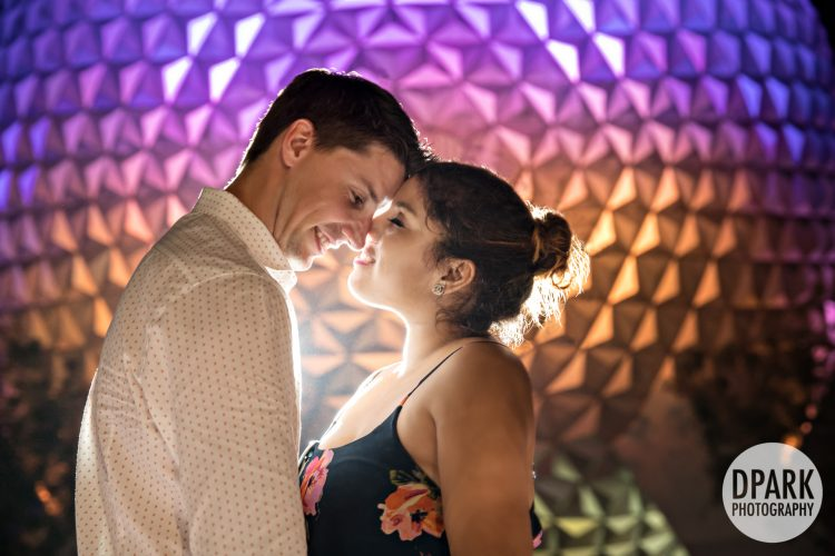 Sneak Peek | Walt Disney World Epcot | Carly + Mike