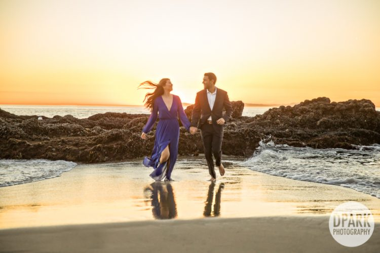 Sneak Peek | Victoria Beach Engagement | Danielle + Raj