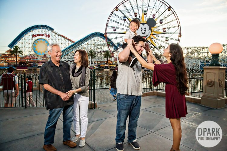Happiest Place on Earth Family Photos