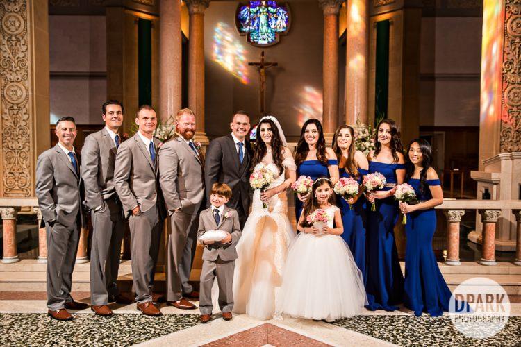immaculata-church-chaldean-bridal-party
