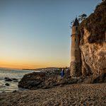 Victoria Beach Engagement | Danielle + Raj