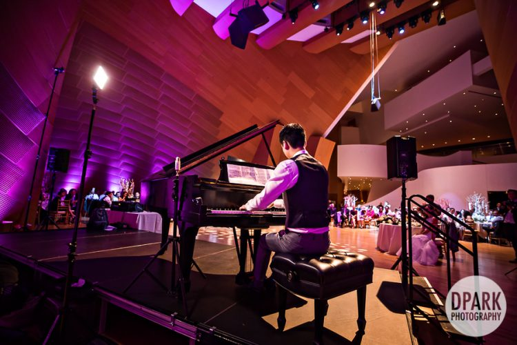 Walt Disney Concert Hall Wedding Piano Performance Film