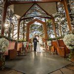 Wayfarers Chapel Betty H Reckas Cultural Center Wedding | Lauren + Daniel