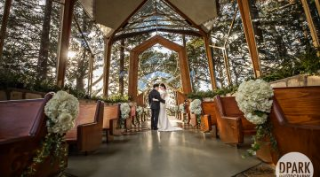 Wayfarers Chapel Betty H Reckas Cultural Center Wedding | Lauren + Daniel