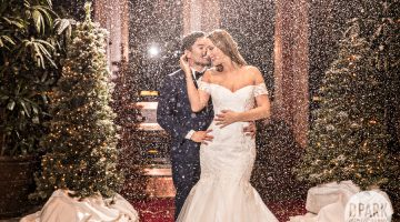 Winter Wonderland Wedding | Karissa + Lance