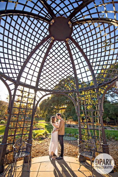 descanso-gardens-jewish-engagement-photos