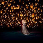 Sneak Peek   Lantern Lighting Engagement   Amber + Tyler