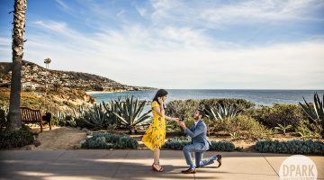 Montage Beach Proposal | Mina + Farzad