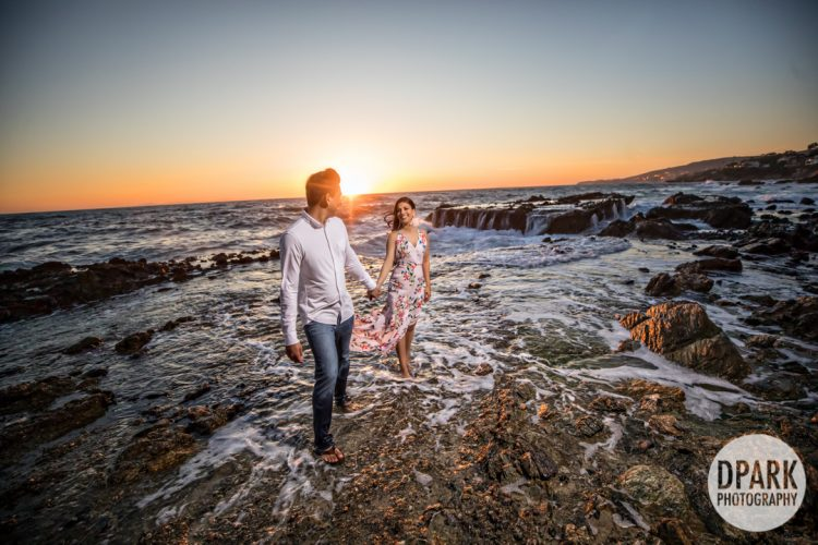 Sneak Peek | Victoria Beach Engagement | Rena + Puneet
