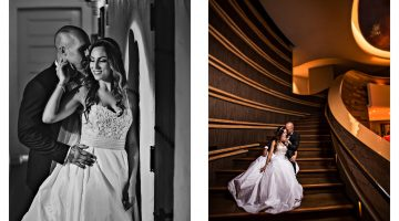 Laguna Nigel Signature Wedding Album | Suzy + William