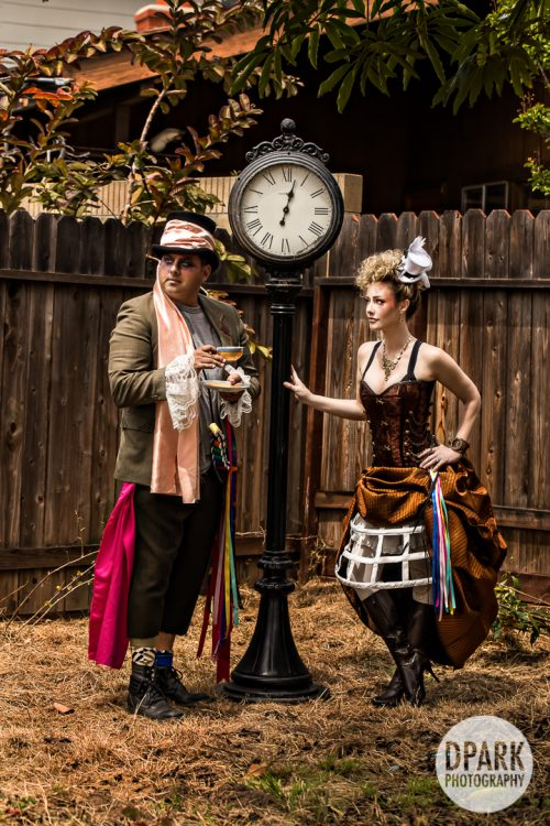 tim-burton-alice-in-wonderland-engagement-photographer