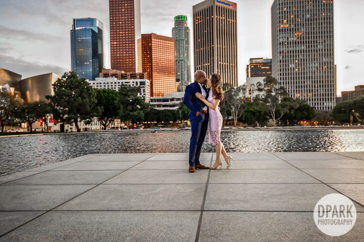 la-city-skyline-engagement-photographer
