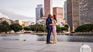 Downtown LA Engagement | Yessenia + Adebayo