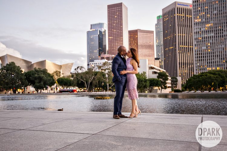 la-city-skyline-engagement-photography