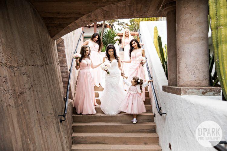 casa-de-romantica-san-clemente-wedding-bridesmaids-pink