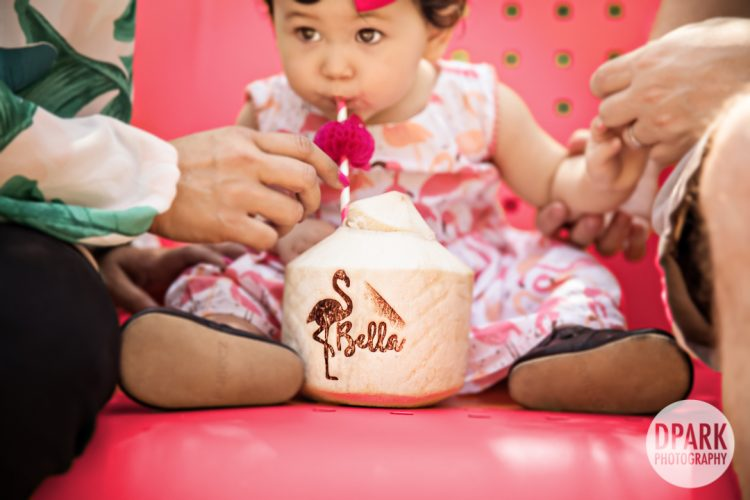 Sneak Peek | Irvine 1st Birthday Party | Bella