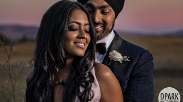 Sneak Peek | Carneros Resort Wedding Reception | Tiffany + Preet