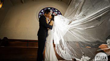 Sneak Peek | Calvary Presbyterian Church + BeatBox Studio LA Wedding | Maria + Aaron
