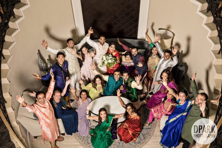 silver-creek-valley-country-club-indian-wedding-bridal-party