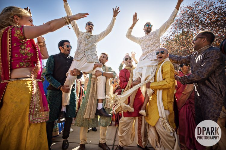 silver-creek-valley-country-club-indian-wedding-baraat