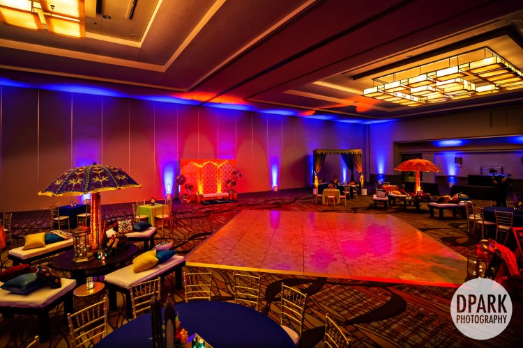 hilton-anaheim-indian-sangeet-wedding-decor