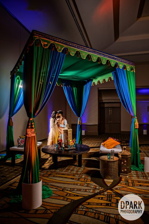 hilton-anaheim-indian-sangeet-wedding-romantics
