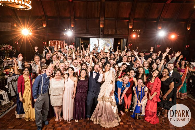 best-indian-wedding-reception-group-photographer